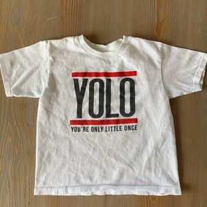 YOLO You're Only Little Once Youth T-Shirt
